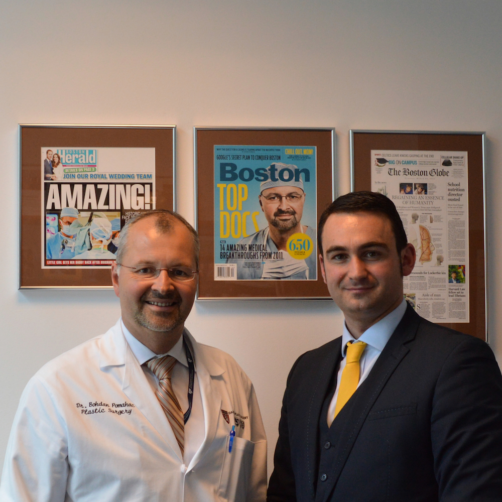 Ben Ambrose & Dr Bohdan Pomahac