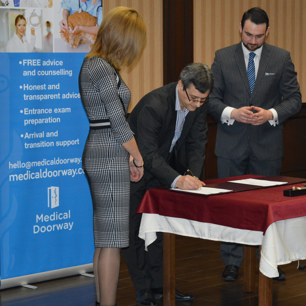 Pleven Medical University - Exclusive agreement with Medical Doorway