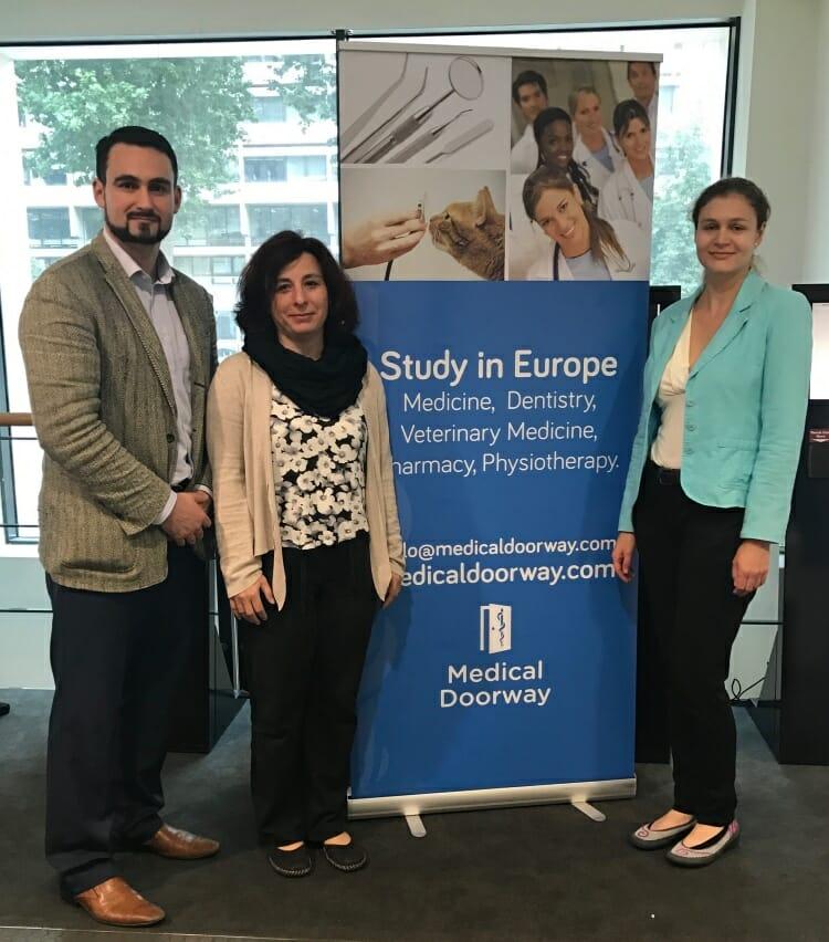Ben Ambrose supportedMarketa Neckarova and Petra Švambergová in invigilating the examination held at Birkbeck University of London.