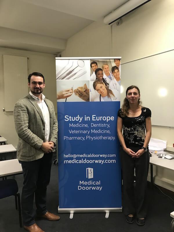 Professor Jana Franková (Department of Medical Chemistry and Biochemistry) travelled from Olomouc for the Palacky University examination.
