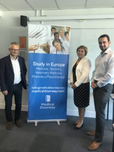 Ben Ambrose of Medical Doorway with Poznan University of Medical Sciences