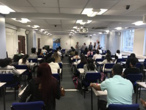 Forty-five students sat the exam for Charles University Second Faculty of Medicine