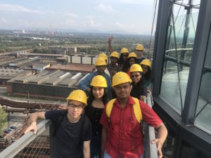 The Medical Doorway students braved the Bolt Tower as they began to study medicine in Ostrava.