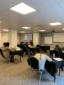 Twenty-five students registered for the Palacky University exams held in London and Manchester