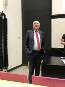 Dean of Charles Second Faculty of Medicine, Vladimír Komárek, welcomed the new students.
