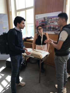Fifth Year student Alessia (LF1 MedSoc VP of Academic Affairs), was one of many Medical Doorway students helping the enrolment run smoothly.