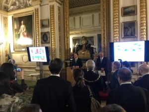 The Rt Hon Christopher Pincher MP (Minster for Europe) presided over the celebrations at Lancaster House.