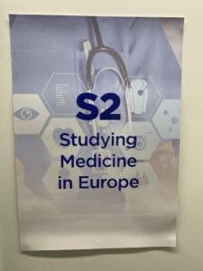 Ben Ambrose delivered the Study Medicine in Europe presentations