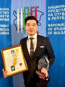 Medical Doorway student, Prasidha Rai, was the recipient the 2020 International Student of the Year in Bulgaria award.